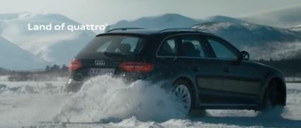 Audi Sverige – quattro® älskar snö
