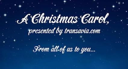 A Christmas carol by transavia.com