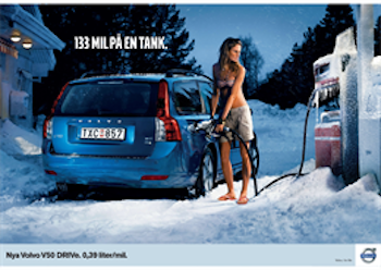 Volvo V50 DRIVe Gas Station (stills)
