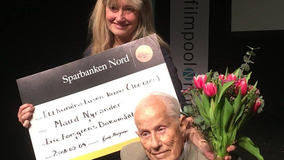 Vinnare av Eric Forsgrenspris  – Maud Nycander