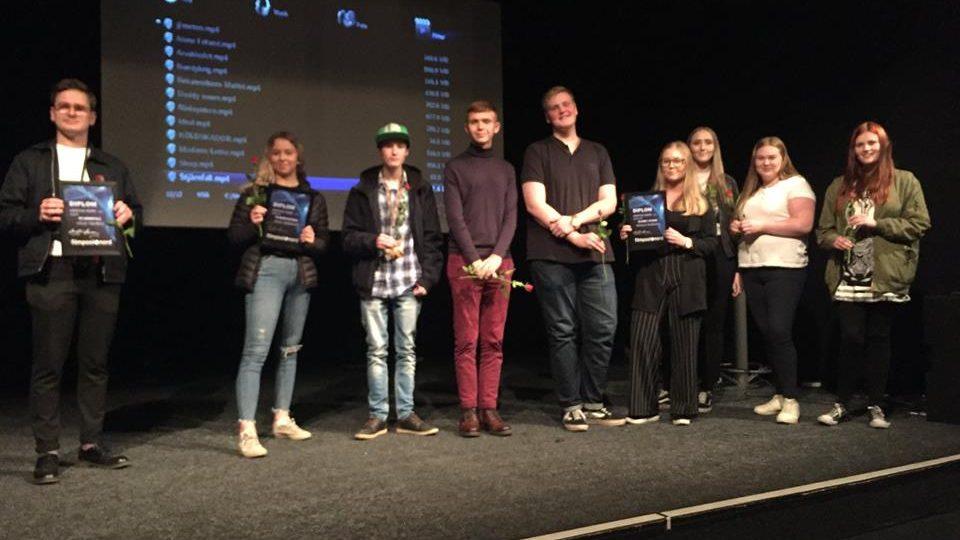 Lyckliga vinnare i Ung film i norr