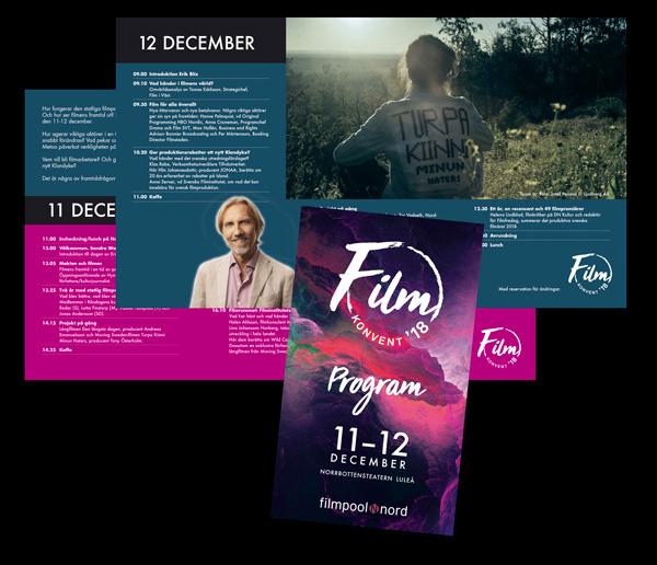 Programmet för Filmkonvent 2018