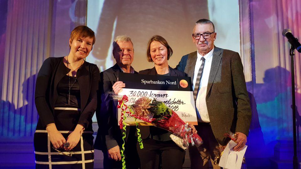 Charlotta Lennartsdotter får Filmsparken 2018