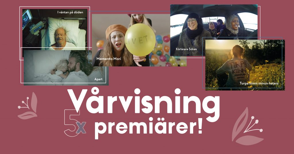 Filmpool Nord bjuder in till filmvisning av nya kort- och dokumentärfilmer på Biograf Royal