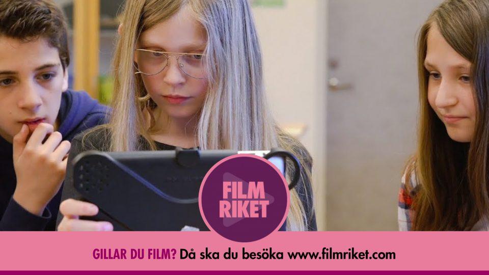 Filmriket gör det enklare att jobba med film i skolan