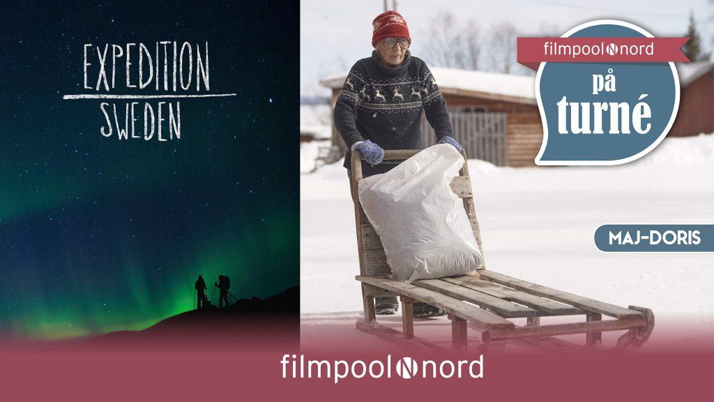 Filmpool Nord visar film på Kebnekaise fjällstation