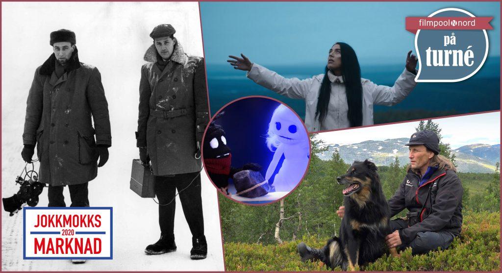 Filmpool Nord på turné kommer till Jokkmokks marknad