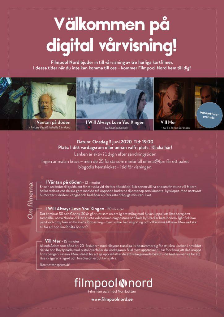 Välkommen på digital vårvisning!