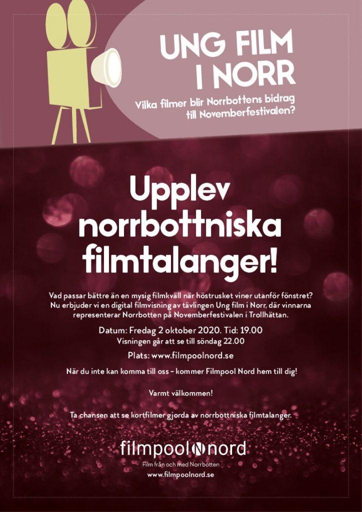 Upplev norrbottniska filmtalanger