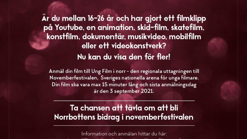 Ung Film i Norr - Deadline