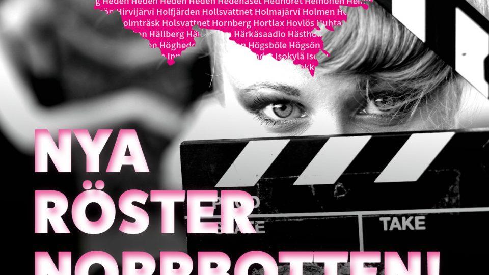 Har du en berättelse som kan bli en film? Nu söker Filmpool Nord nya röster från Norrbotten.