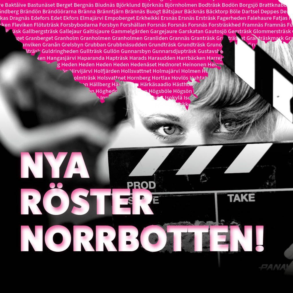Fem nya kortfilmer ska spelas in i Nya röster Norrbotten!